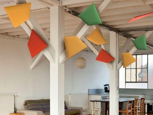 I pannelli fonoassorbenti in ufficio aiutano anche ad arredare al meglio l'ufficio