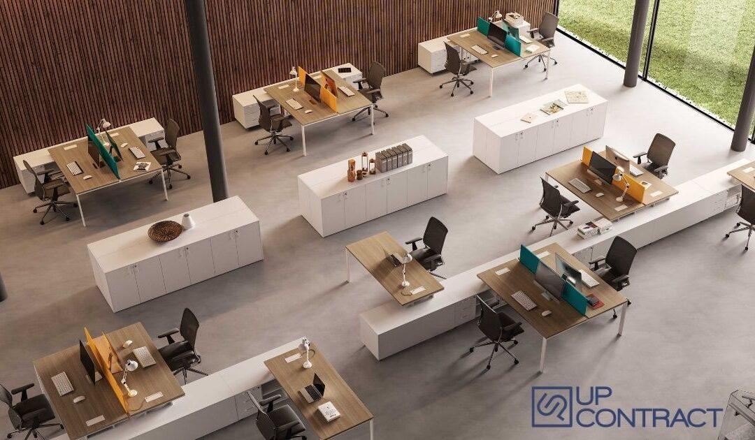 Come posizionare la scrivania in ufficio